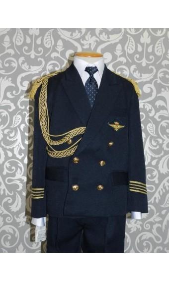 Traje de comunión almirante galones flecos